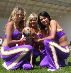 Laker Girls with dog.jpg