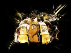 Lakers Team Wallpaper