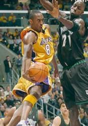 Avy tight Kobe in air