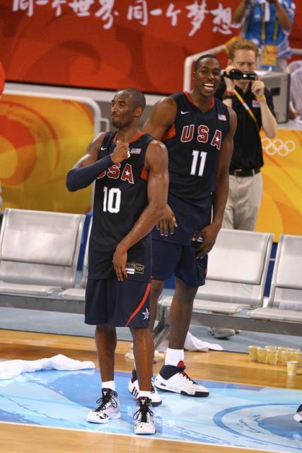 medal (2 the gold Kobe  Bryant USA celebrates team win.jpg