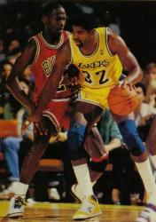 Magic Johnson backs in against Michael Jordan.jpg