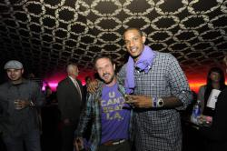 Trevor Ariza and David Arquette.jpg