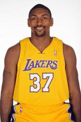 Ron Artest smiles in a Los Angeles Lakers uniform.jpg