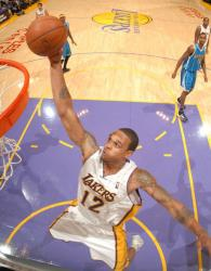 Shannon Brown elevates for a dunk against the Hornets.JPG