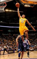 Shannon Brown races in for a one handed dunk vs the Jazz.JPG