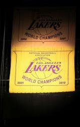 Lakers Championship Banner 2009-2010.JPG