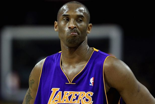 Kobe Bryant Purses His Lips In Charlotte Jpg