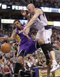 Matt Barnes is fouled hard by Brian Cardinal.JPG