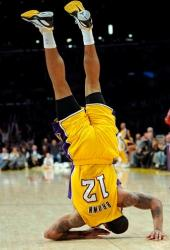 Shannon Brown does a summersault.JPG