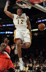 Shannon Brown finishes off a dunk vs the Blazers.JPG