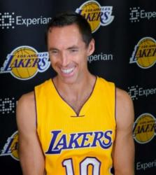 Steve Nash Pictures as a  Laker