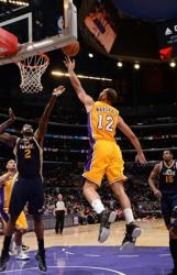 Kendall Marshall left handed layup @ Staples Center.JPG