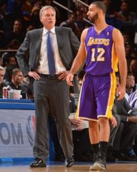 Kendall Marshall hears it from coach Mike D'Antoni.JPG