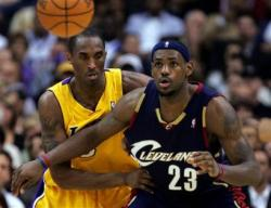 kobe lebron james capt.las10401130511.cavaliers lakers basketball las104