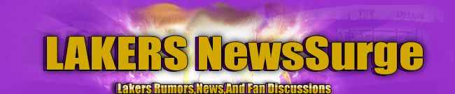 Los Angeles Lakers News Surge Banner